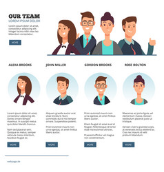 creative business people business outsourcing vector image