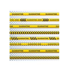 danger tape quarantine warning tape fencing vector image