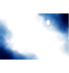 dark blue watercolor splash textured background vector image