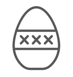 Egg masturbation line icon sex toy and adult vector