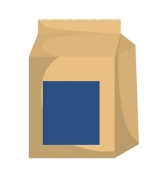 Food bag icon Bakery design graphic vector