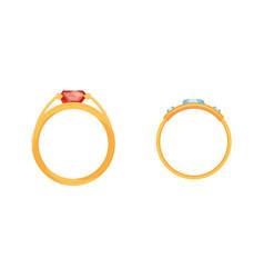 Jewelry jewellery gold wedding ring golden vector