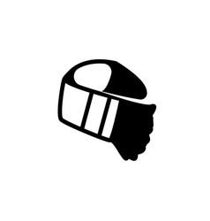 Slayer bandana flat icon vector