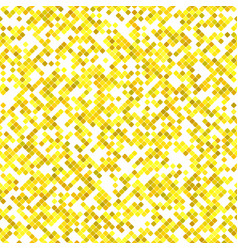 yellow seamless diagonal square pattern vector image