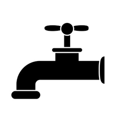 Isolated eco tap design vector image