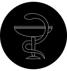 pharma symbol vector image