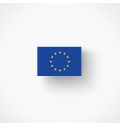 flag of the European Union vector image vector image