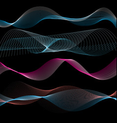 Abstract linear waves vector