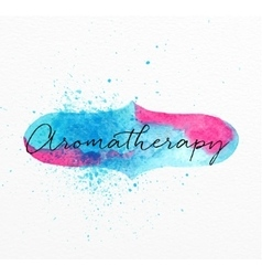 Beauty natural spa aromatherapy vector