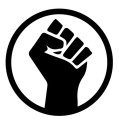 Black lives matter and white depicting blm vector