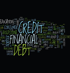 Let s talk about debt text background word cloud vector