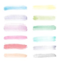 very bright watercolor vector image vector image