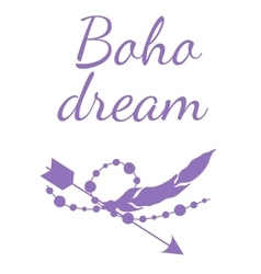 Boho Dream vector