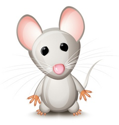 Cartoon mouse vector