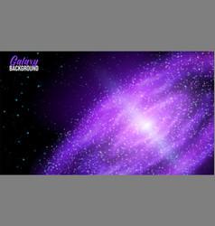 Galaxy in space universe stars nebula vector