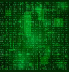 generation of random binary data coding vector image