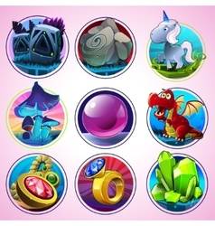 Magic Icons vector image