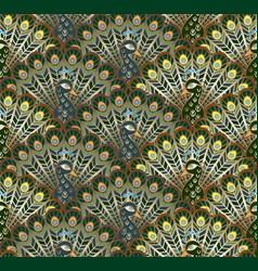 peacocks vector image