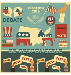 Presidential Election vector