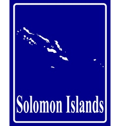 Solomon Islands vector image