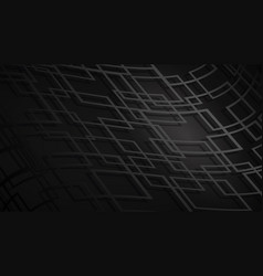 Abstract background of intersecting squares vector