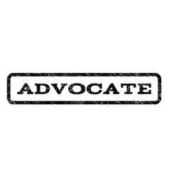 advocate watermark stamp vector image