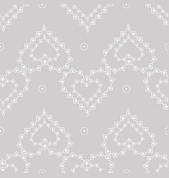 cute delicate abstract seamless pattern of lace vector image
