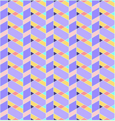 Geometric seamless pattern background with line vector