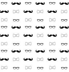 Hipster seamless decorative pattern background vector