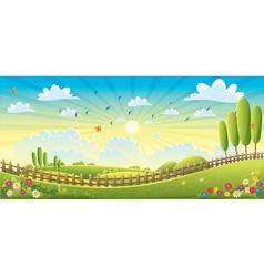 Landscape Scene vector image