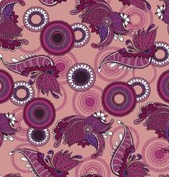 Mehndy flowers pattern vector