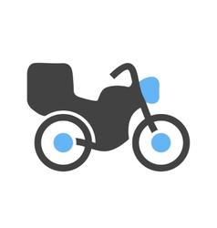Motor Bike vector image