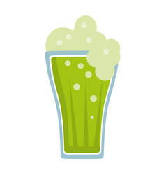 St patricks day green beer vector