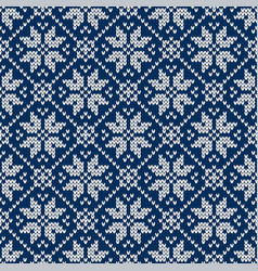 sweater fairisle design vector image