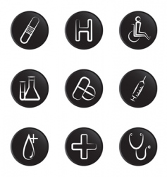 medical object icon vector image vector image