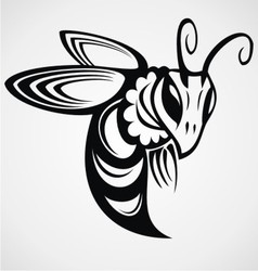 Bee Tattoo Design vector