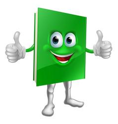 book mascot education concept vector image vector image