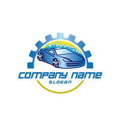 Carwash logo vector