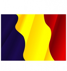 Flag of Rumania vector