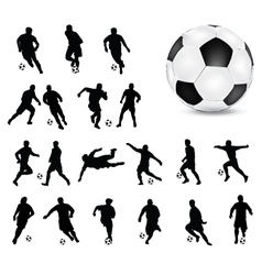 football 4 vector image