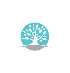 tree of life healing center vector image
