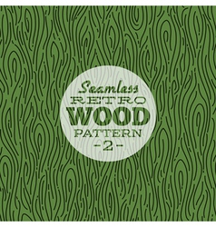 Retro wood seamless pattern vector image vector image