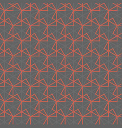 Abstract geometric line mesh seamless pattern vector