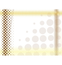 abstract light halftone background vector image