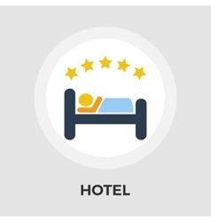 Hotel Flat Icon vector