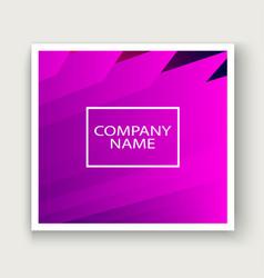minimal cover graphic design neon halftone pink vector image