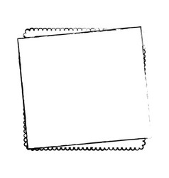 Paper note sheet vector