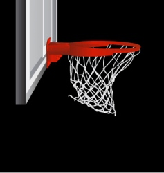 basketball hop vector image vector image