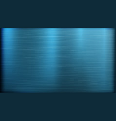 blue metal abstract technology background vector image vector image