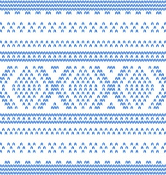 Abstract Knitted Pattern vector image